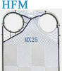 NBR/EPDM/VITON Gasket Stainless steel/ Ti/Ni/ SMO Alfa laval Plate Heat Exchangers Spare Parts