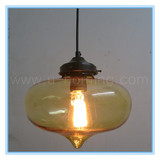 NEW Modern Glass Pendant Lamp Fixture 1pc