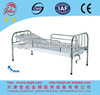 AA2 Cheap stainless steel manual hospital bed with one crank