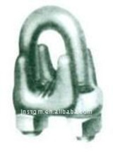 Electroplating tin Type A wire rope clip