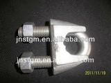 malleable galvanized DIN 741 wire rope clip