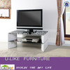 Modern tempered glass and MDF frame TV stand TV unit