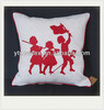 new design decorate applique sofa cushion cover