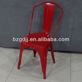 Alibaba 2014 Glossy Finish france Style Metal Chair