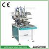 Semi-automatic cylinder making machine gluing machine