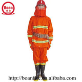 fireproofing clothing/ fire resistant clothing for fireman /rescue clothes