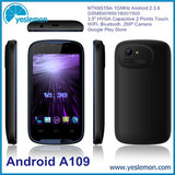 Unlocked MTK6515M 1GHz Processor Android Smartphone 3.5 inch Dual Sim Card Android Mobiles Cheap Quad Band Android Mobile Phone