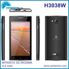 MTK6572 cheapest dual core 3G android mobile 4.5 inch slim smart mobilephone nice cellphone