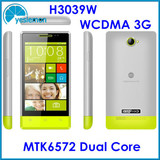 Cheap Android Phone 4 inch MTK6572 Dual Core 1.2GHz Android Phones 3G WCDMA Andorid Smartphone Dual Sim Dual Camera Android 4.2