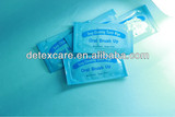 disposable teeth wipe,finger teeth wiper with private label