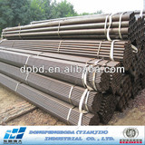 carbon steel pipe price list for construction material Made in China DPBD ms Black Circle Hollow Section CHS