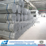carbon steel pipe price list galvanized steel Made in China DPBD ms Pre-galvanized Circle Hollow Section CHS