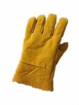 cow split leather welding working gloves/leather work gloves/working leather glove/safety glove