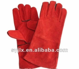 Welding leather gloves, welding gloves, Safety leather work gloves, work leather gloves, safety glove, working leather glove