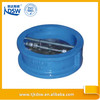 Double door cast iron dual plate check valve