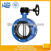 double flange worm butterfly valve
