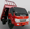 Dayun high grade 4105 series 4*2 dump truck with one and half row cab
