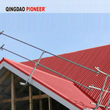 Metal roof edge protection by direct factory