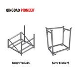 Construction barrier frame metal frame manufacturing
