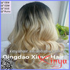 Hot sale top quality two tone color body wave Brazilian virgin hair full lace wig