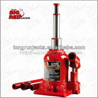 Torin BigRed Double Ram hydraulic bottle jack