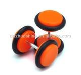 Colorful acrylic fake ear plugs