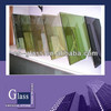 Tinted reflective float glass(Dark green/Euro grey/ford blue tinted reflectivefloat glass