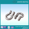 carbon steel forgings linked parts cross by shackles