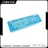 2014 popular colorful cheapest standard wired keyboard