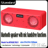 Factory supply in wall bluetooth speaker with mic handsfree functions
