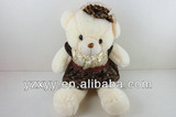 stuffed soft bear plush skirt bear toys