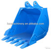 hard rock mining bucket for excavator machinery parts