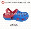 Two color garden EVA injection shoe GQE0013