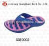 Two colour EVA injection flip flops mould GQE0003