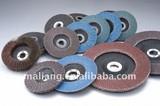 Aluminum oxide flap disc wood flap disc