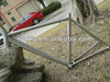 Performance titanium road bicycle frame for cycle fans