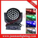 36*10W RGBW 4 in 1 Touch Panel Led Zoom Moving Head Light Moving Head Wash Light DJ Lighting