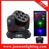 7*12W 4 in 1 Osram Led Beam Moving Head Light Moving Head Wash Light DJ Lighting