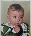 High Quality Cute Kids Portrait Canvas Oil Painting