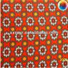 Dark Red Printing T/C Flannel Fabric