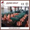 upward continuous casting machine for copper rod/tube/bar