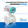 Electromagnetic flow meter digital