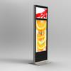 55inch + 32inch dual-screen floor-standing indoor LCD advertising player