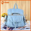 most popular backpack for girls denim bag customized
