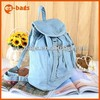 custom made backpacks bag for young girl denim cheap