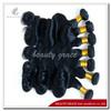 Hot!! wholesale virgin wavy brazilian human hair extension