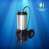 Full head Incising Non clogging submersible electrical pump