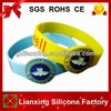 2014 high quality silicone wristband, debossed silicone bracelet