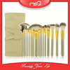 MSQ 18pcs Top quality synthetic hair beige color makeup brush set