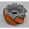 203.2mm 240kg payload AGV mecanum wheel with polyurethane roller